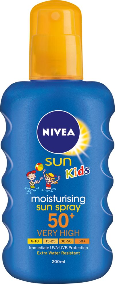 NIVEA SUN KIDS CARING SUN SPRAY SPF 30 150ml Height: 15,5cm